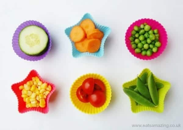 Eats Amazing - Lunch Box Food Ideas - lots of ideas for different vegetables to include in your lunch box