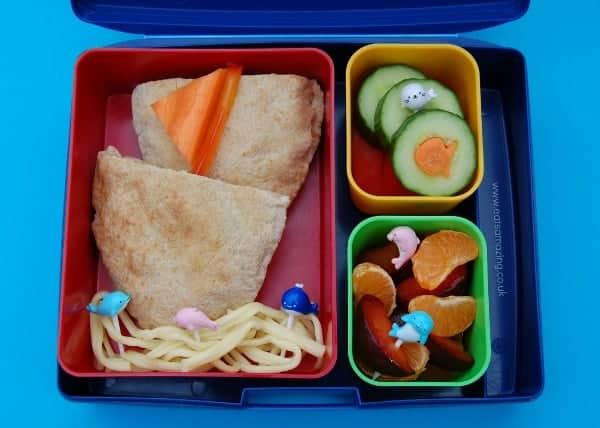 Pitta Bread Boat Lunch