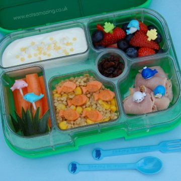 Under the Sea Yumbox Lunch