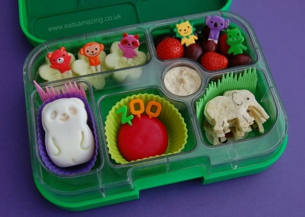 Eats Amazing - Simple Zoo lunch with CuteZcute Animal Palz Panda Egg