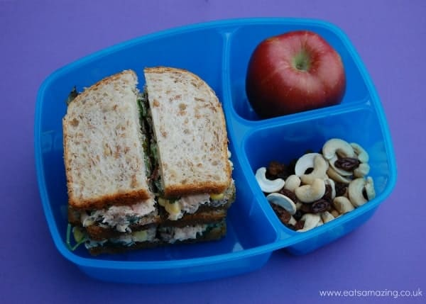 Eats Amazing - Sistema Triple Split to Go Review - Simple Sandwich Lunch
