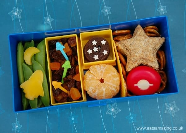 Eats Amazing - Space Themed Lunch in our Lego Lunchbox