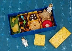 Space Themed Lego Lunch Box