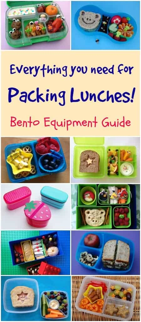Eats Amazing - round up of UK lunch box recommendations for packing bento lunches plus where to buy bento accesories and equipment in the UK