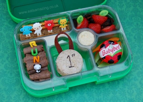 Eats Amazing UK - Special Sports Themed Bento Lunch for Sports Day