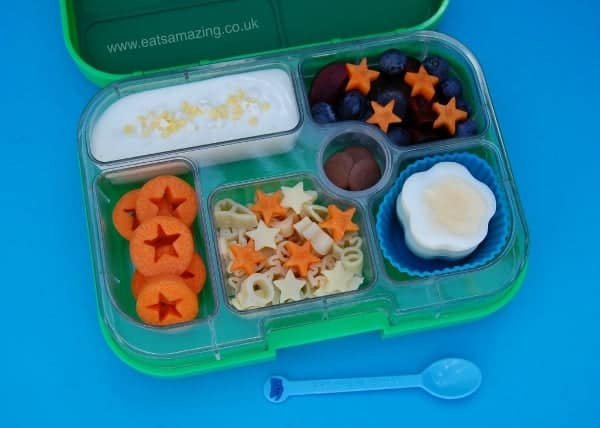 Eats Amazing UK - Star themed Yumbox bento lunch