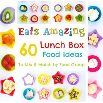 60 Lunch Box Food Ideas for kids school lunches - mix and match these 60 different healthy foods for endless lunch packing combinations