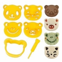 CuteZcute Animal Friends Cutter Kit - for sandwiches and cookies etc - available in the UK exclusively from the Eats Amazing Shop - click here to buy