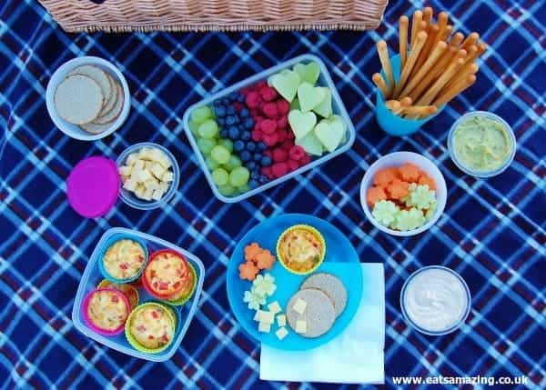 Eats Amazing - A delicious healthy picnic for the Organix No Junk Picnic Challenge