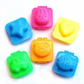 Eats Amazing Bento Shop UK - Fun egg moulds to shape hard boiled eggs quickly and easily