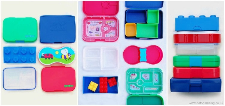 Eats Amazing - The Ultimate Guide to UK lunch boxes for bento style lunches with side by side comparisons - back to school 2014