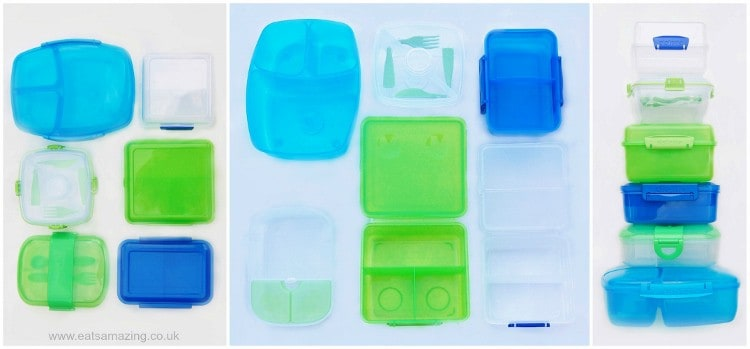 Eats Amazing - The Ultimate Guide to buying lunch boxes in the UK for bento style lunches with side by side comparisons - back to school 2014