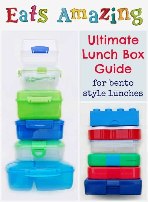 Eats Amazing - The Ultimate Guide to buying lunch boxes in the UK for bento style lunches with side by side comparisons - perfect for back to school