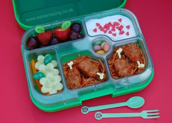 Eats Amazing UK - Lovely leftovers in the yumbox bento box for lunch