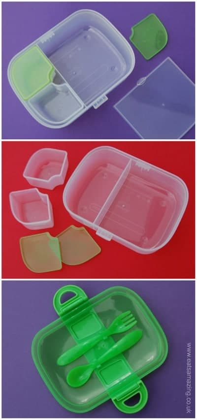Eats Amazing UK - Munchkin Bento Mealtime Lunch Box Set Review and Giveaway - click here to enter