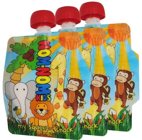 Eats Amazing UK - Nom-Nom Kids Reusable Pouches Review