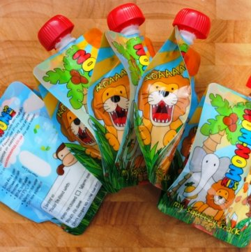 Nom-Nom Kids Reusable Pouches Giveaway
