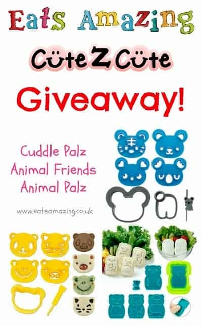 Eats Amazing UK bento shop - Massive CuteZcute cutter set giveaway - all 3 sets for one lucky winner - click here to enter