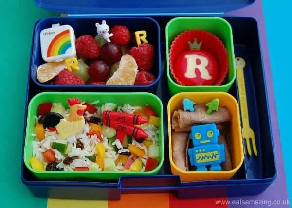 alphabet lunch letter r