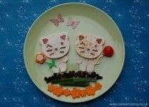 Eats Amazing - Fun Quesadillas made using the CuteZcute cutter sets