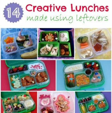 Fun & Healthy Packed Lunches Using Leftovers