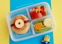 Eats Amazing UK - English Muffin Minion Lunch - Despicable Me