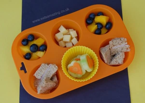 Eats Amazing UK - Muffin Tin Meal for 1 year old Small Baby
