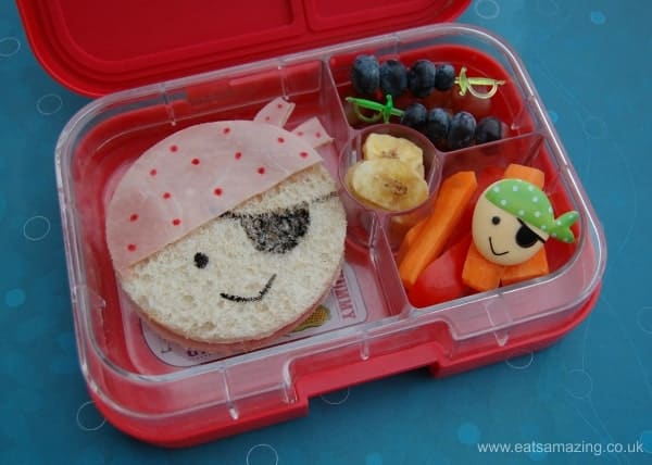 Eats Amazing UK - Pirate Sandwich Lunch for International Talk Like a Pirate Day