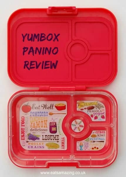 Eats Amazing UK - Review of the new Yumbox Panino