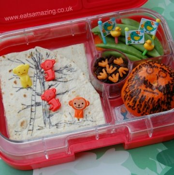 Eats Amazing UK - The Twits Book Themed Bento Lunch for Roald Dahl Day