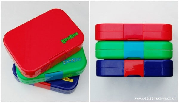 Eats Amazing UK - Yumbox Panino Review - all the Yumboxes are the same size on the outside