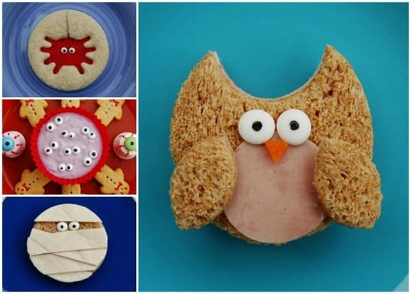 Easy Homemade Icing Eyes - use to decorate snadwiches and yoghurt as well as cakes - from Eats Amazing UK