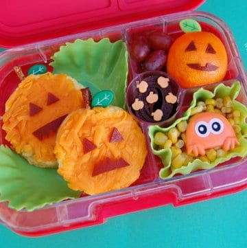 Using up Leftovers in Creative Halloween Lunches