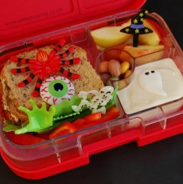 Small Child Makes Lunch #5 – Halloween Theme