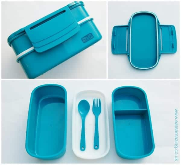 Eats Amazing UK - Polar Gear Bento Box in Blue - Review