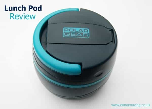 Eats Amazing UK - Polar Gear Lunch Pod Review