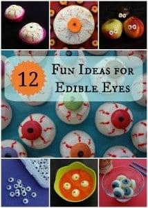 Halloween Food: 12 Fun Ideas for Edible Eyes