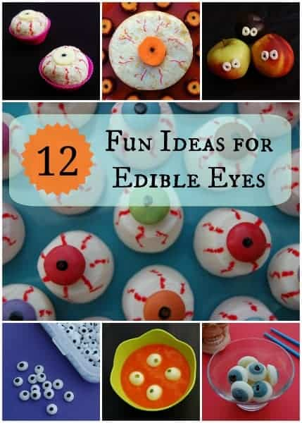 Halloween Food - 12 Fun Ideas for Edible Eyes - Eats Amazing UK