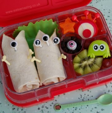 Easy Alien Themed Bento Lunch & #FunFoodFriday