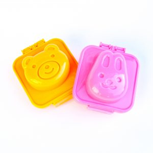 Bear and Rabbit Egg Moulds from the Eats Amazing Shop - turn boiled eggs into animals with these fun tools