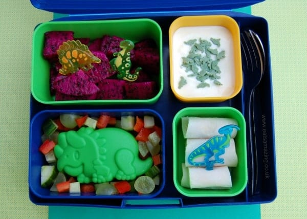 Fun Dinosaur School Lunch for a Dinosaur Loving Child from Eats Amazing UK