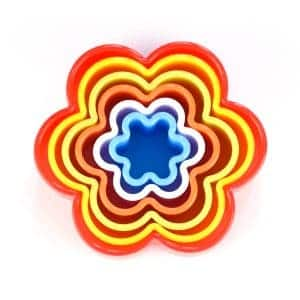 Nesting Flower Shaped Cookie Cutters from the Eats Amazing Shop
