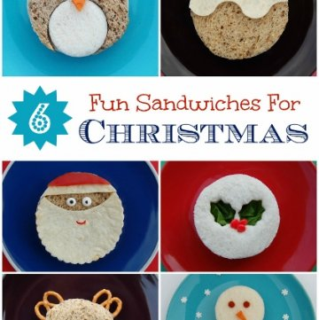 Christmas Food  – 6 Fun Sandwich Ideas