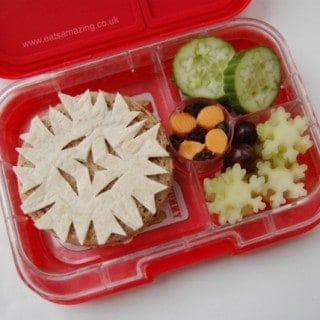 Snowflake Sandwiches and Themed Lunch