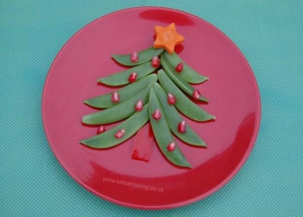 Eats Amazing UK - Healthy Christmast Tree Snack for Kids