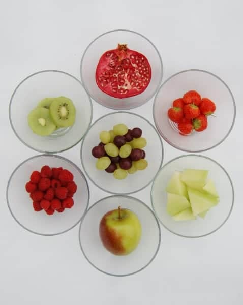 Eats Amazing UK - Red and Green Fruit Ideas for Christmas Food - Have a healthy Christmas