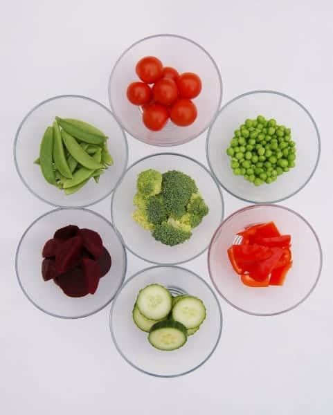 Eats Amazing UK - Red and Green Vegetable Ideas for Christmas Food - Have a healthy Christmas