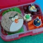 Angry Birds Themed Bento Lunches