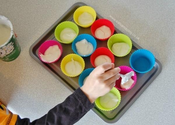 Eats Amazing UK - Frozen Fruity Yoghurt Bites Child Friendly Recipe
