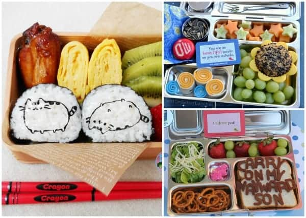 Fantastic Round-Up of some of the best creative bento lunches and bloggers from around the web 2